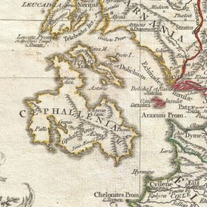 Detail from the 1794 d'Anville Map of Ancient Greece