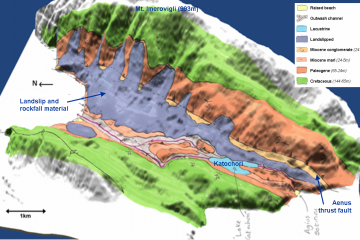 Thinia geology map
