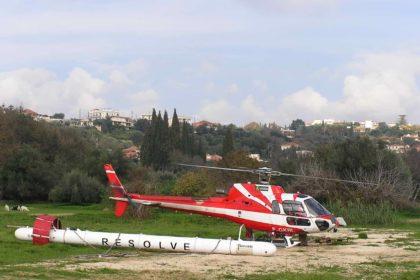 Το ελικόπτερο εναέριας έρευνας της Φούγκρο