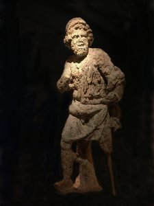 Odysseus statue