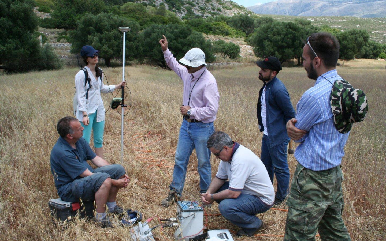 Livadi geoscience team (June 2016)